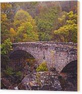 Old Stone Bridge. Scotland Wood Print