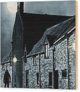 Old Street In England Wood Print