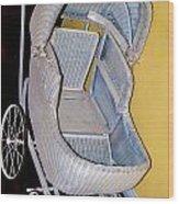 Old Stroller Wood Print