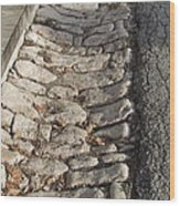 Old Style Gutter Wood Print