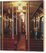 Old Subway In Buenos Aires Wood Print