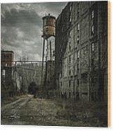 Old Taylor Distillery Wood Print