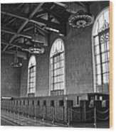 Old Ticket Counter At Los Angeles Union Station Wood Print