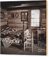 Old-time Living Wood Print