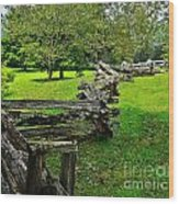 Old Time Tradition Wood Print