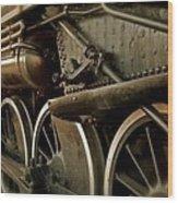 Old Timer Wood Print