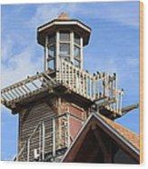 Old Tower Wood Print