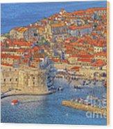 Old Town Dubrovnik Wood Print