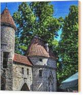 Old Town - Tallin Estonia Wood Print