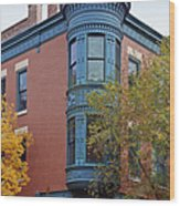 Old Town Triangle Chicago - 424 W Eugenie Wood Print