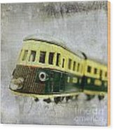 Old Toy-train Wood Print