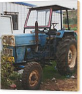 Old Tractor I Wood Print