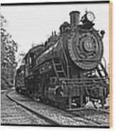 Old Trains Wood Print