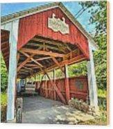 Old Trostle Town Bridge Wood Print