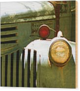 Old Truck Abstract Wood Print