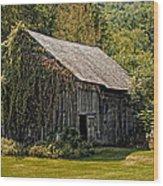 Old Vermont Barn Wood Print