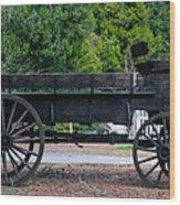 Old Wagon Wood Print
