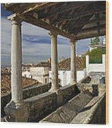 Old Washing In Granada Wood Print