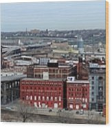 Old West Bottoms Kcmo Wood Print