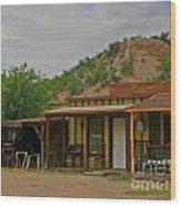 Old West Homestead Wood Print