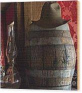 Old West Saloon Wood Print by Juli Scalzi