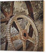 Old Wheels Wood Print by Odd Jeppesen