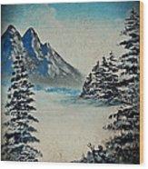 Old Winter Wood Print