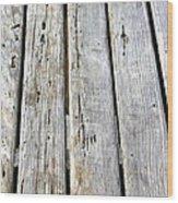 Old Wood Texture Wood Print