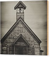 Old Wooden Sanctuary Wood Print