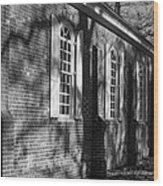 Old Wye Church Wye Mills Wood Print