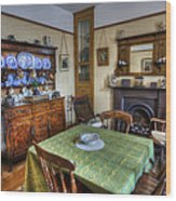 Olde Dining Room Wood Print