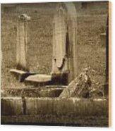 Olde Graves Wood Print