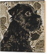 Olde World Canine Wood Print