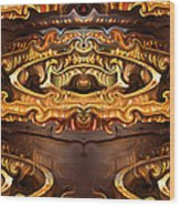 Olden Golden Wood Print