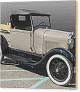Older Pickup Wood Print