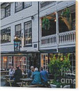 Oldest Coaching Inn In London Wood Print