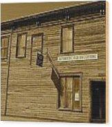 Oldest Drug Store 2 Wood Print