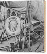 oldest in the Fleet Wood Print
