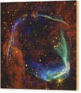 Oldest Recorded Supernova Wood Print