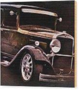 Oldie Wood Print