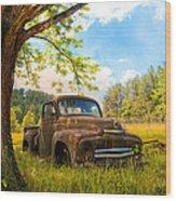 Oldie Goldie Wood Print