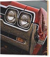 Olds 442 - 1966 Wood Print