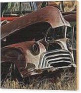 Oldsmobile 40s Wood Print