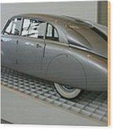 Oldtimer Tatra T87 Wood Print