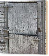 Ole Barn Door Wood Print