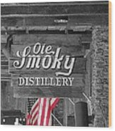 Ole Smoky Distillery Wood Print by Dan Sproul