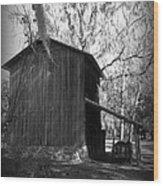 Ole Tobacco Barn I Wood Print