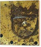 Ole Yeller Wood Print