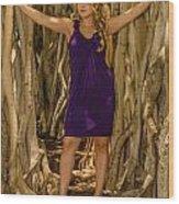 Olga 1 Wood Print