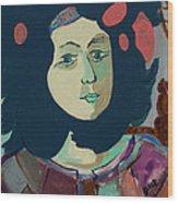 Olga  Wood Print
